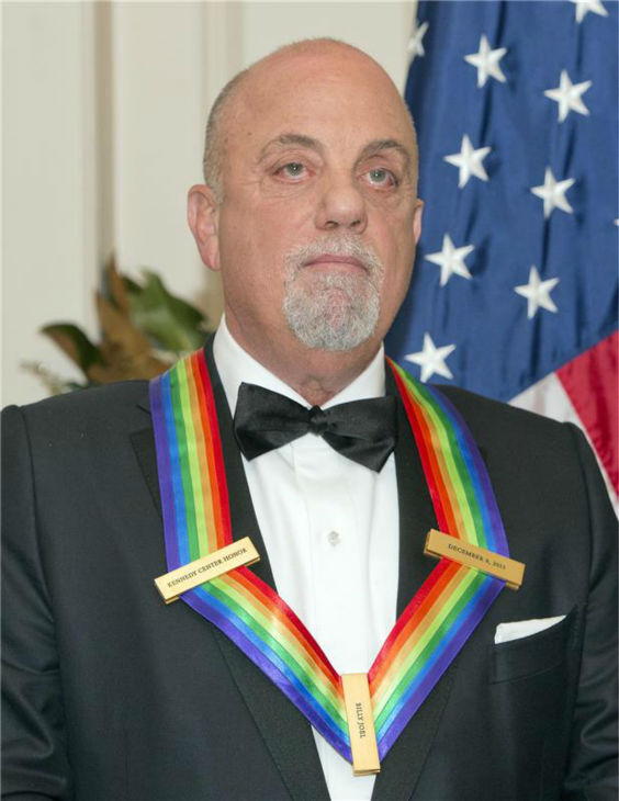 Billy Joel attends a ceremony for the 2013 Kennedy Center honorees in Washington D.C. on Dec. 8, 2013. The singer was one of the five. <span class=meta>(Ron Sachs &#47; Startraksphoto.com)</span>