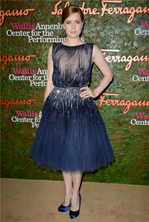 Amy Adams attends the Wallis Annenberg Center for the Performing