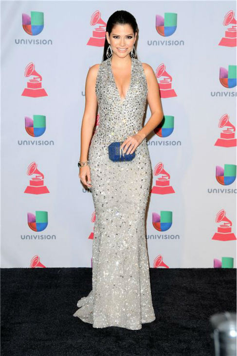 Ana Patricia arrives at the 2013 Latin Grammy Awards at the Mandalay Bay Hotel and Casino in Las Vegas on Nov. 21, 2013. <span class=meta>(Dave Proctor &#47; Startraksphoto.com)</span>