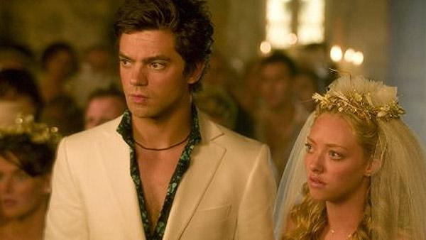 Amanda Seyfried and Dominic Cooper met on the set of the 2008 film Mamma Mia! and dated for about three years. They split around May 2010. Seyfried told Elle magazine in its April 2011 issue that he broke her heart. - Provided courtesy of Universal Pictures / Relativity Media