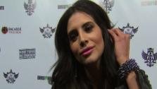 Hope Dworaczyk speaks to OnTheRedCarpet.com in February 2011 at a party honoring the Black Eyed Peas in Los Angeles. - Provided courtesy of OTRC