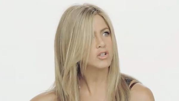 Jennifer Aniston appears in an ad for SmartWater in March 2011. - Provided courtesy of SmartWater