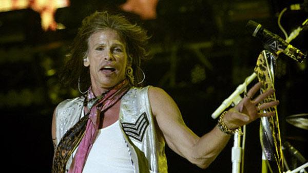 Steven Tyler of Aerosmith appears in concert in 2010.