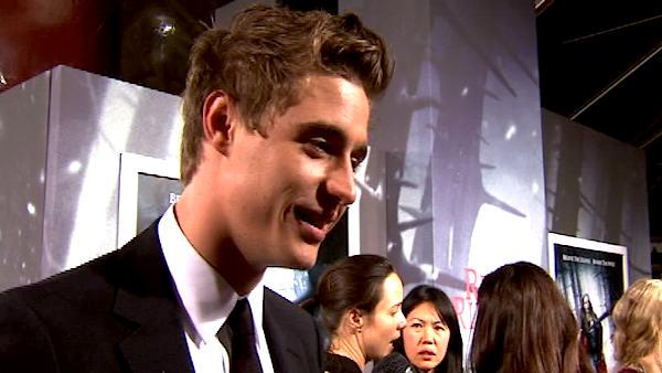 Max Irons at the 'Red Riding Hood' premiere