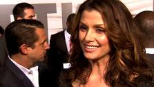 Bridget Moynahan talks to OnTheRedCarpet.com at the premiere of Battle Los Angeles. - Provided courtesy of KABC / OTRC