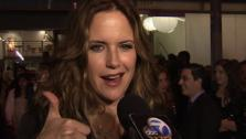 Kelly Preston speaks to OnTheRedCarpet.com at the opening of her friend and actress Kirstie Alleys Organic Liaison health food store in Los Angeles on Wednesday, March 9, 2011. - Provided courtesy of OTRC