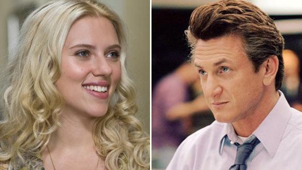 Scarlett Johansson appears in a still from the 2009 film, Hes Just Not That Into You./Sean Penn appears in a still from the 2005 film, The Interpreter. - Provided courtesy of OTRC / Paramount Pictures/Universal Studios/Phil Bray