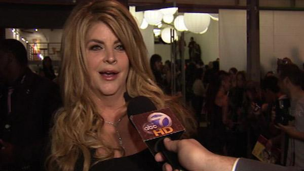 Kirstie Alley speaks to OnTheRedCarpet.com at the opening of her Organic Liaison health food store in Los Angeles on Wednesday, March 9, 2011. - Provided courtesy of OTRC