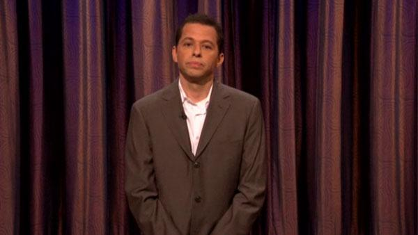 Jon Cryer appears on a March 10, 2011 episode of Conan. - Provided courtesy of TBS