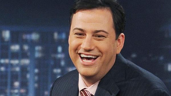 Jimmy Kimmel appears in a still from a February 2011 episode of Jimmy Kimmel Live. - Provided courtesy of KABC / ABC/Mitch Haddaad