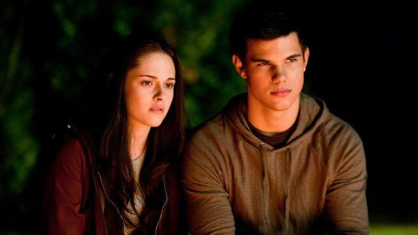Kristen Stewart and Taylor Lautner appear in a still from the 2010 film, Twilight: Eclipse. - Provided courtesy of OTRC / Summit Entertainment