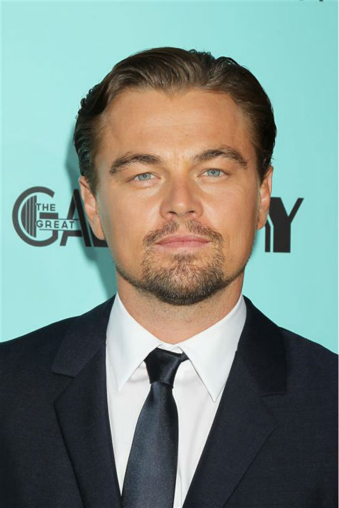 The &#39;Darn-Good-Stare&#39; stare: Leonardo DiCaprio attends the premiere of &#39;The Great Gatsby&#39; in New York on May 1, 2013. <span class=meta>(Dave Allocca &#47; Startraksphoto.com)</span>