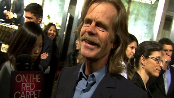 William H. Macy at the 'Lincoln Lawyer' premiere