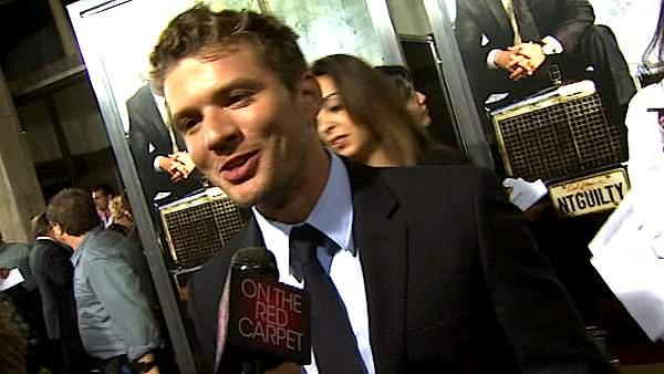Ryan Phillippe at the 'Lincoln Lawyer' premiere