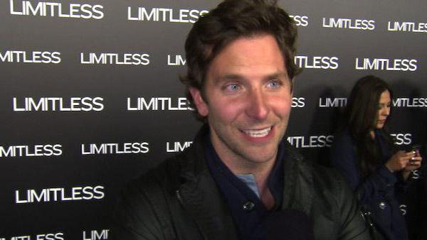 Bradley Cooper talks to OnTheRedCarpet.com at the Hollywood premiere of Limitless. - Provided courtesy of OTRC