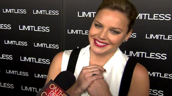 Abbie Cornish talks to OnTheRedCarpet.com at the Hollywood premiere of 'Limitless' on March 11, 2011.
