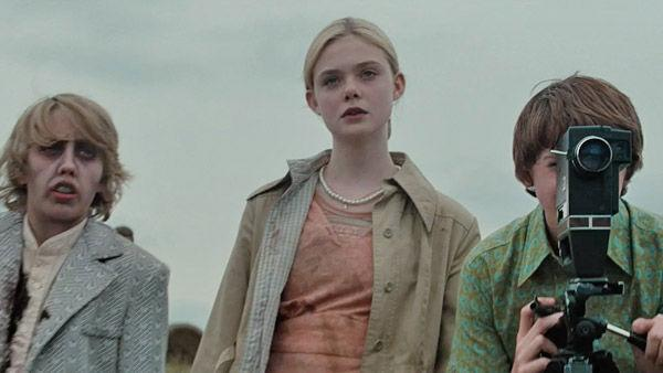 Ryan Lee, Elle Fanning and Joel Courtney in a scene from the 2011 film 'Super 8,' directed by J.J. Abrams ('Star Trek') and produced by Steven Spielberg ('E.T.').