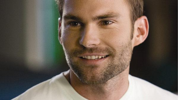 Seann William Scott appear in a still from his 2008 film, 'Role Models.'