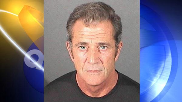 Actor-director Mel Gibson is shown in this booking photo provided by the El Segundo Police Department. - Provided courtesy of El Segundo Police Department