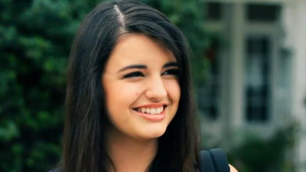 Rebecca Black appears in a still from her music video, Friday. - Provided courtesy of OTRC / Arc Music Factory