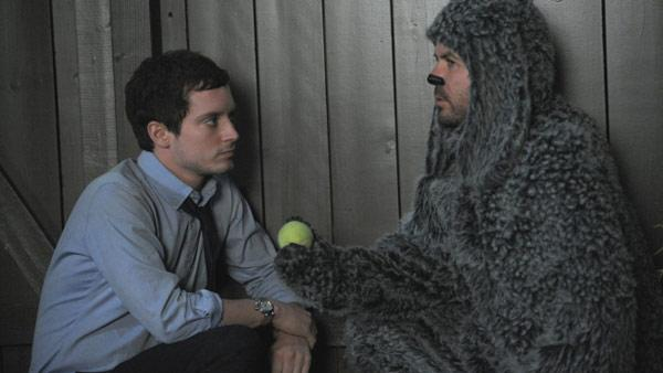 Elijah Wood as Ryan and Jason Gann as Wilfred in a scene from the 2011 FX series 'Wilfred.'