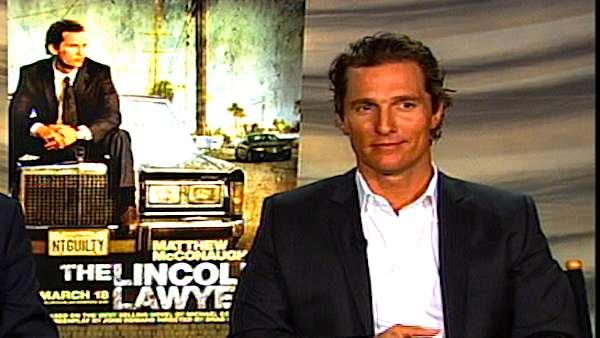 Matthew McConaughey's 'Lincoln Lawyer' interview