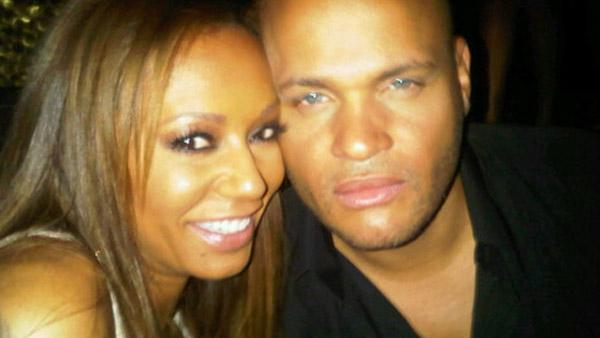 Melanie Brown, aka Mel B., and husband Stephen Belafonte appear in a photo posted on his Twitter page.