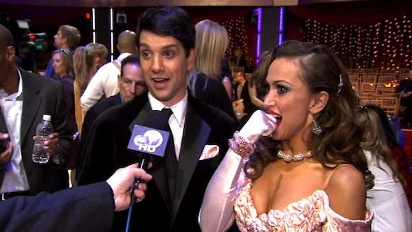 Ralph Macchio talks to OnTheRedCarpet.com after week 1 of 'Dancing With The Stars.'