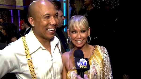 Hines Ward talks about his first night on 'DWTS'
