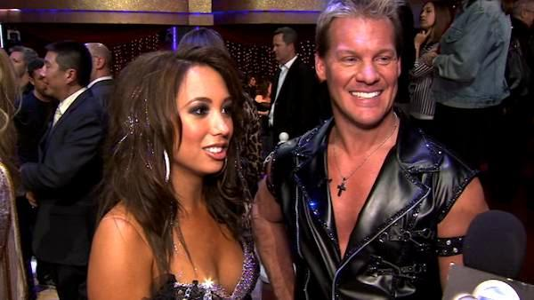 Chris Jericho talks about his first night on 'DWTS'