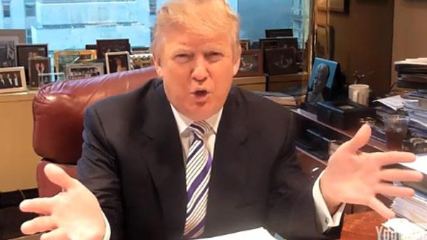 Donald Trump appears in a March 16, 2011 video posted on shouldtrumprun.com. - Provided courtesy of shouldtrumprun.com