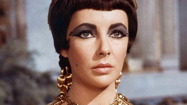 Elizabeth Taylor appears in a still from her 1963 film, Cleopatra. - Provided courtesy of Twentieth Century Fox