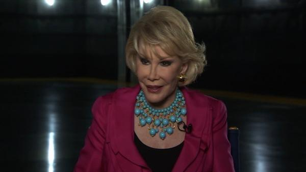 (Joan Rivers speaks to OnTheRedCarpet.com in May 2010 about her documentary, 'Joan Rivers: A Piece of Work.')
