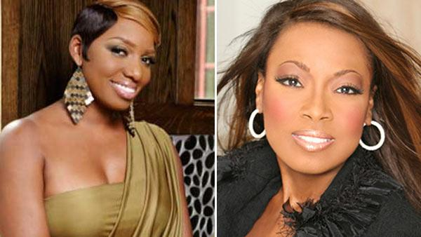 (NeNe Leakes in a promotional still from The Real Housewives of Atlanta. / Star Jones in an undated 2010 photo posted on her Twitter page. - Provided courtesy of Quantrell Colbert / Bravo / twitter.com/starjonesesq