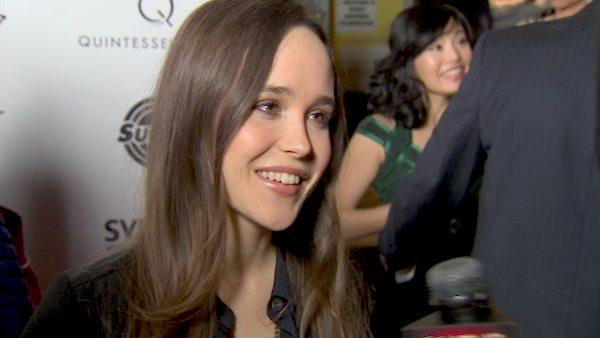 Ellen Page says she loved her action work in Super and dishes some details about her writing project for HBO. - Provided courtesy of OTRC
