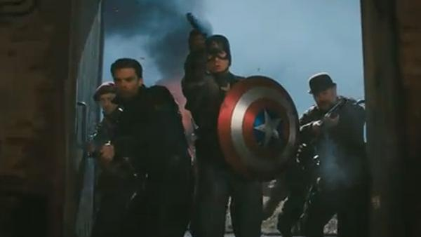 Chris Evans appears as Captain America in the 2011 movie Captain America: The First Avenger. - Provided courtesy of Paramount Pictures