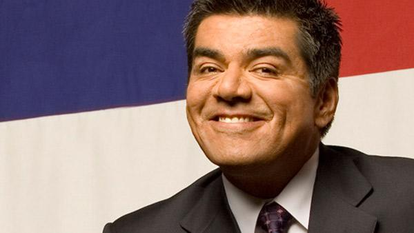 George Lopez appears in a promotional photo for his HBO comedy special, George Lopez Americas Mexican. - Provided courtesy of HBO