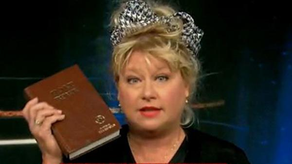 Victoria Jackson appears on CNNs Showbiz Tonight. - Provided courtesy of CNN