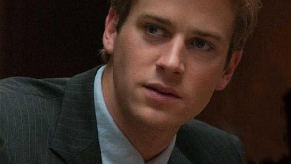 Armie Hammer appears in a still from his 2010 film, The Social Network. - Provided courtesy of Columbia Pictures