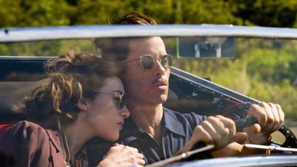 Guy Pearce and Kate Winslet appear in a scene from the 2011 HBO miniseries Mildred Pierce. - Provided courtesy of HBO
