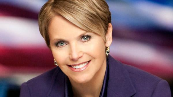 Katie Couric appears in an undated promotional photo for the CBS Evening News. - Provided courtesy of CBS