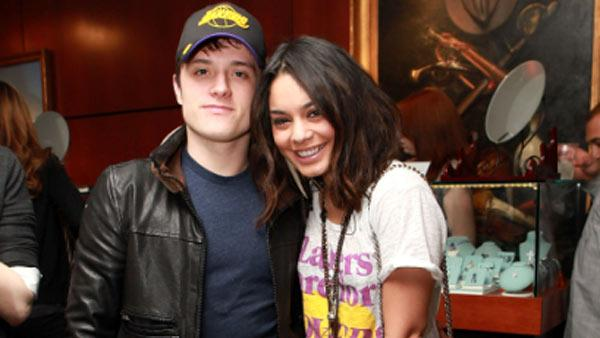 Vanessa Hudgens and Josh Hutcherson at the America Express presents The Shoppes at The Palazzo Jimmy Choo Shopping Event on March 27, 2011. - Provided courtesy of Wendi Kaminski / Andrew D. Bernstein Assoc. Photo, Inc
