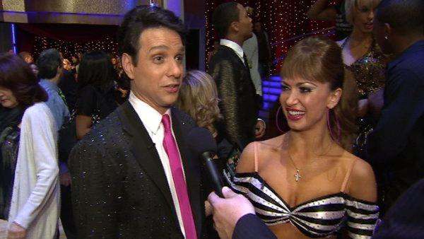 Ralph Macchio talks to OnTheRedCarpet.com after first 'Dancing With The Stars' results show on March 29, 2011.