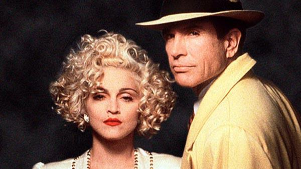 Warren Beatty and Madonna appear in a promotional photo for the 1990 movie Dick Tracy. - Provided courtesy of Touchstone Pictures