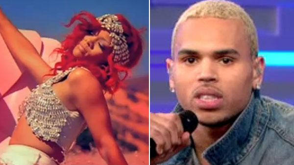 Rihanna appears in the music video Only Girl In the World. / Chris Brown appears on GMA on March 22, 2011. - Provided courtesy of ABC / Def Jam