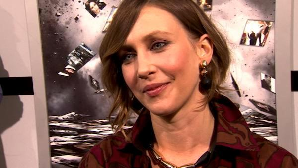 Vera Farmiga gets frisky at the 'Source Code' premiere