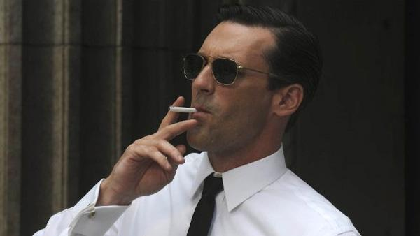 Jon Hamm appears in a scene from the AMC 1960s-era drama show Mad Men in 2010. - Provided courtesy of AMC / Lionsgate