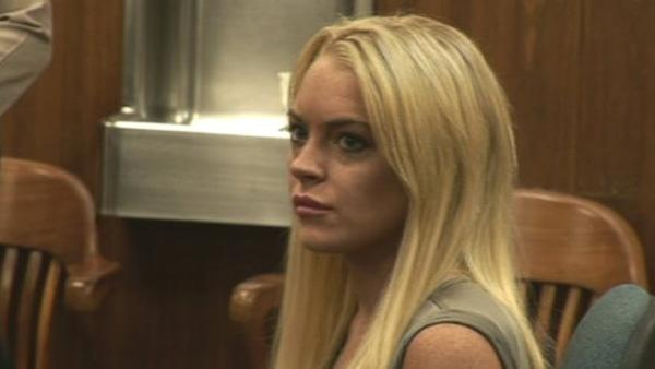 Lindsay Lohan is seen in court on Tuesday, July 20, 2010. She was released from rehab after spending 23 days of her 90-day requirement. An L.A. judge has ordered Lohan to undergo a rigorous outpatient rehab program that will require frequent counseling. - Provided courtesy of KABC