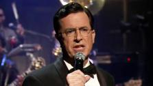 Stephen Colbert appears on the April 1, 2011 sh