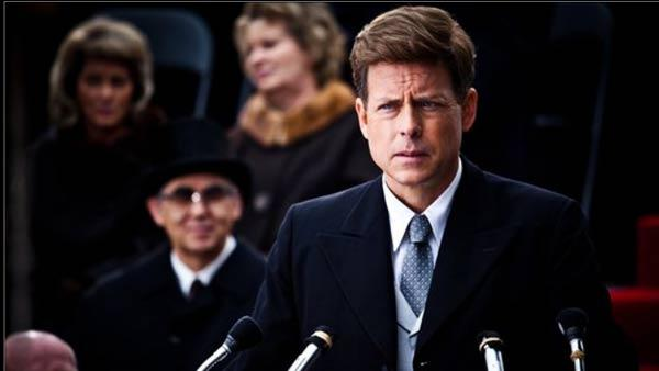Greg Kinnear appears in a scene from The Kennedys. - Provided courtesy of Muse Entertainment Enterprises / Asylum Entertainment